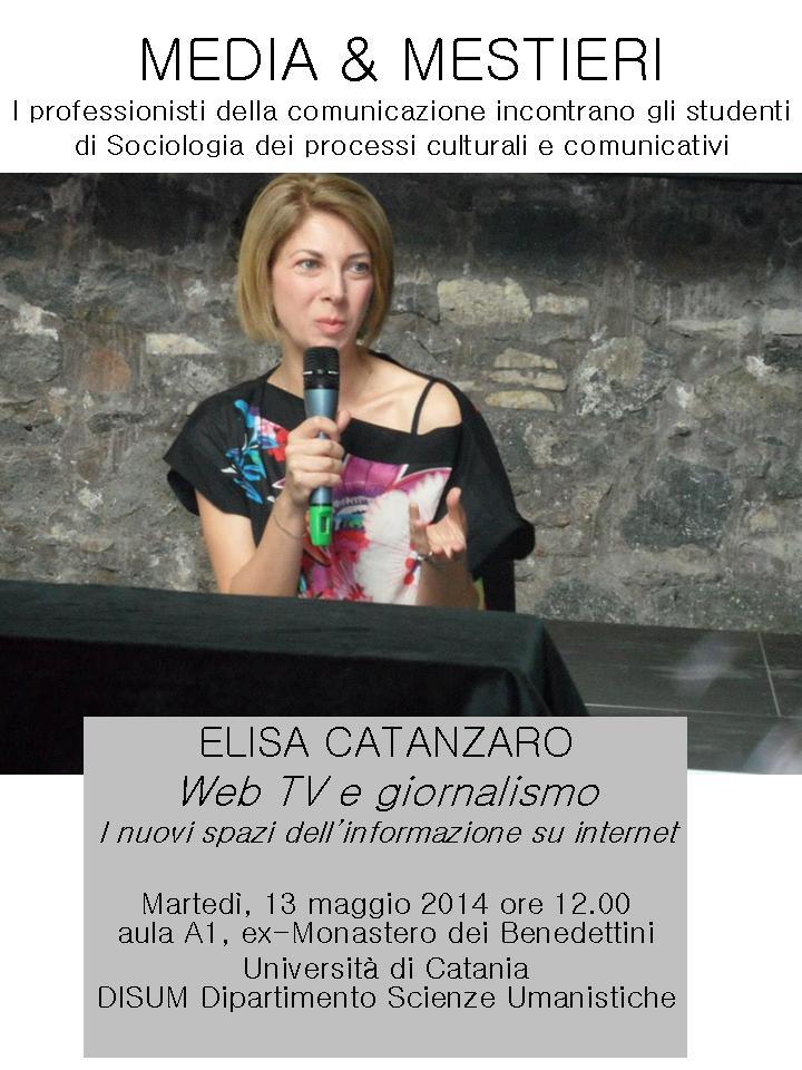 2014_05_13_M&M-SociologiaProcessiCulturaliComunicativi-ElisaCatanzaro-WEBTV